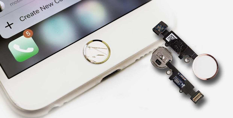 """Замена кнопки хоме iPhone 8 в Броварах, СЦ """"ПК-Партнер"""""""