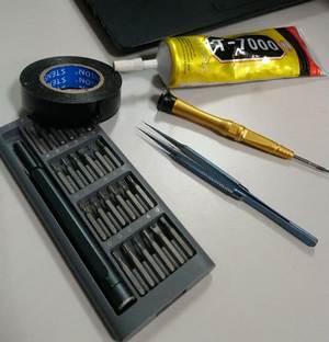 Инструменты для ремонта телефонов