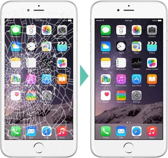 замена дисплея экрана iphone 6 в Бровараз