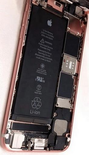 ремонт замена батареи iPhone 6s бровары