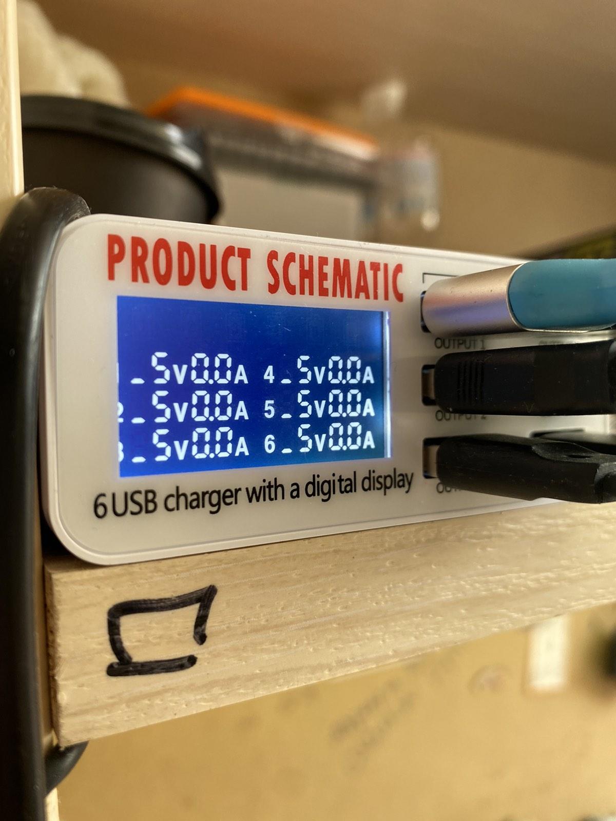 Тестер для проверки зарядки