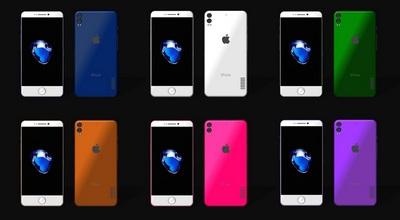 Добавят ли новые цвета в новый Iphone