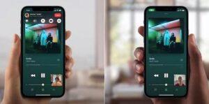 Один экран на iPhone через Face Time