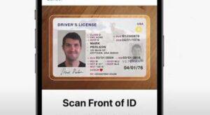 возможность добавить водительские права в айфон на ios 15